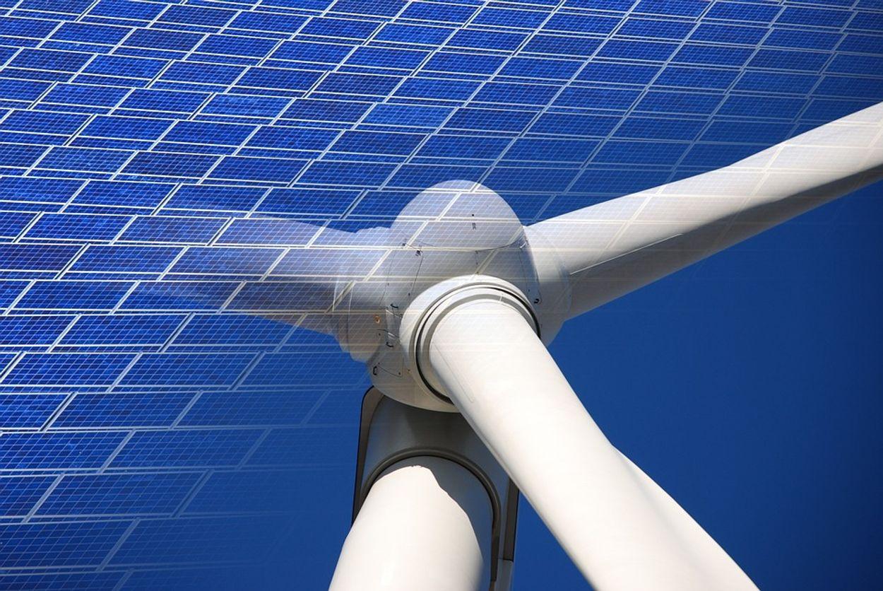 Afbeelding van Vooral zon en wind zorgen voor toename van duurzame energie