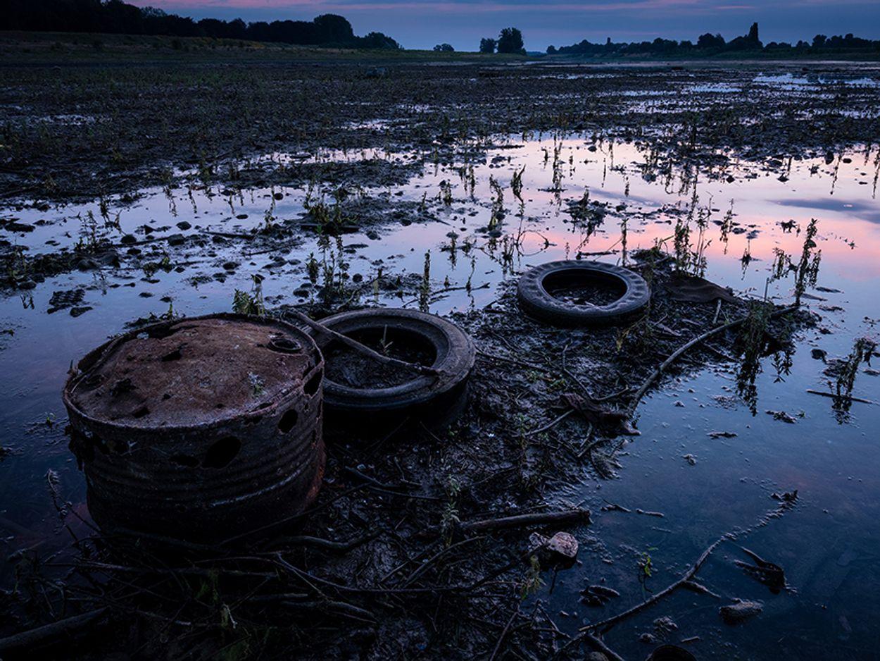 Afbeelding van Natuurmonumenten begonnen met schoonmaak langs beken en Maas