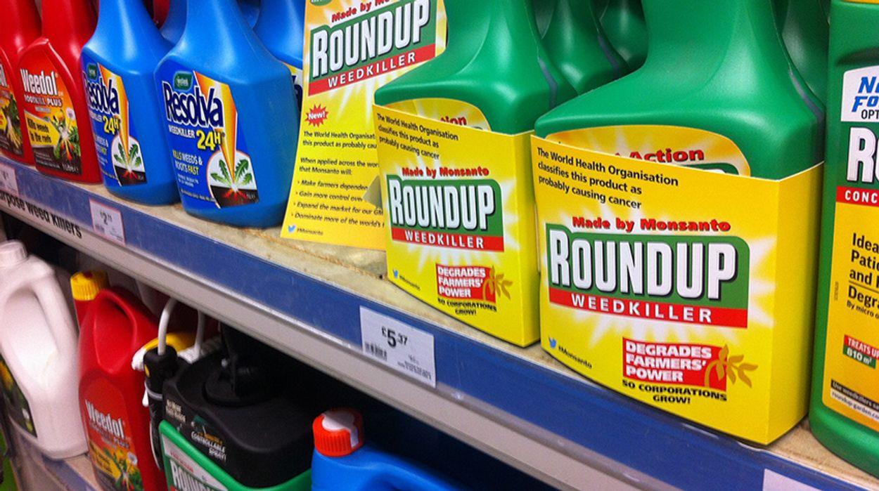 Afbeelding van Bestrijdingsmiddelen met glyfosaat uit de verkoop in Tuincentra