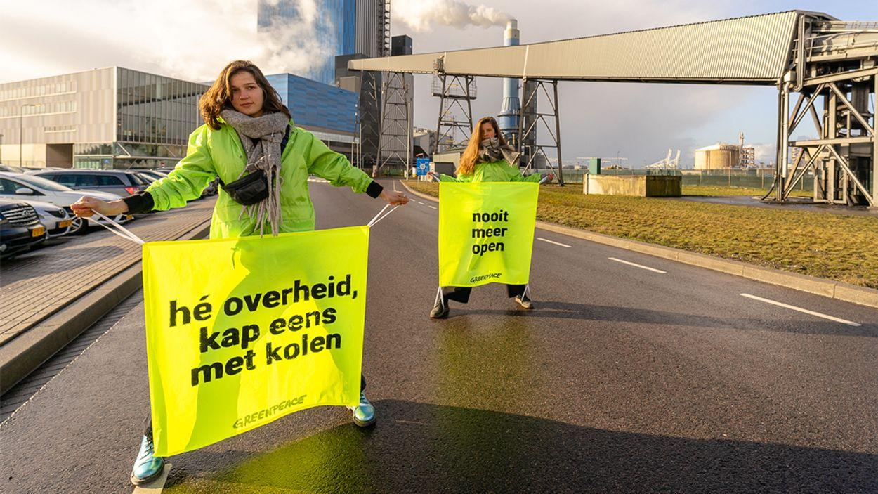 Afbeelding van Greenpeace: 'Heropening kolencentrale Maasvlakte is ongepast'