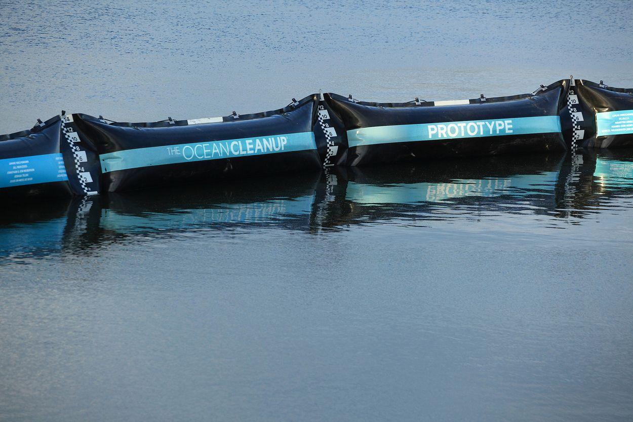 Afbeelding van Laatste test Ocean Cleanup bewijst dat techniek werkt