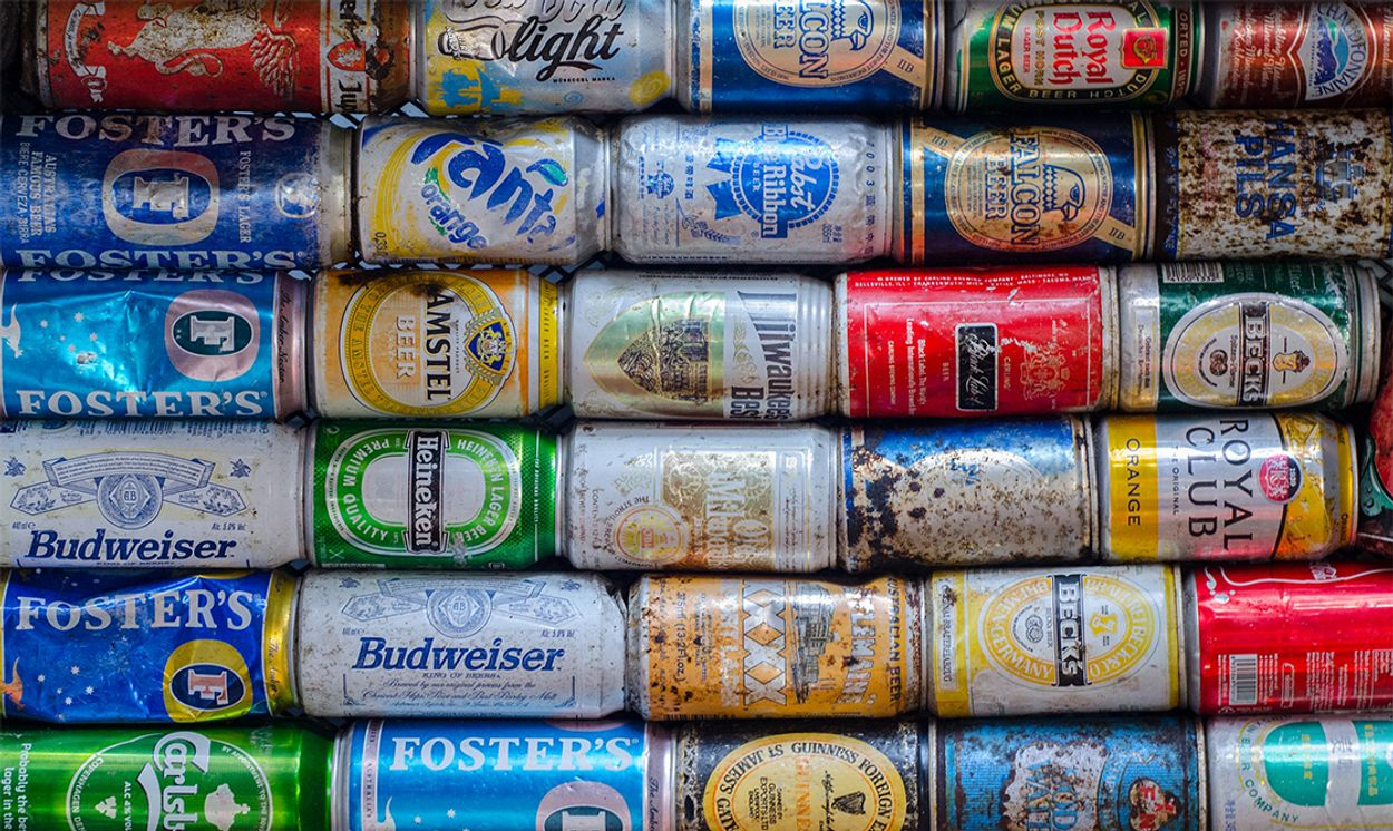 Afbeelding van Brouwers: mensen blijven na komst statiegeld blikjes bier kopen