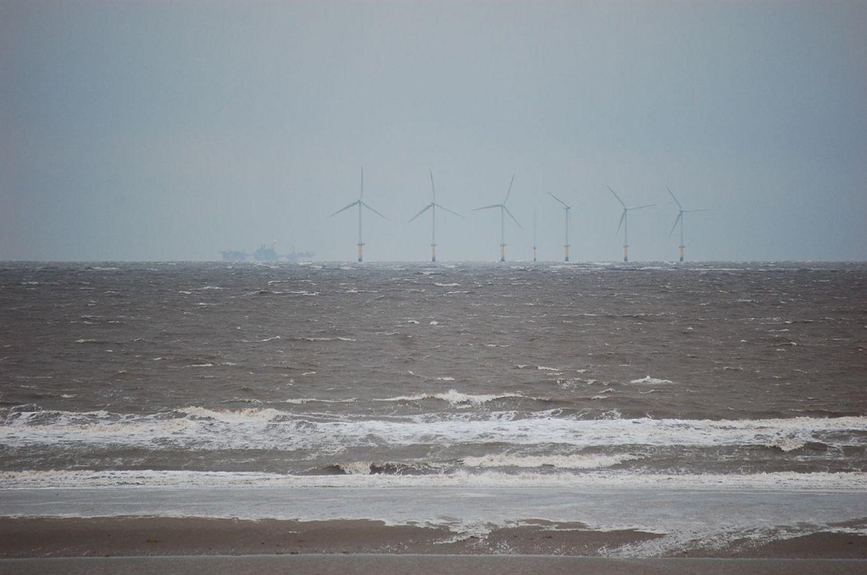 Afbeelding van Europese visserij protesteert tegen windmolenparken op zee