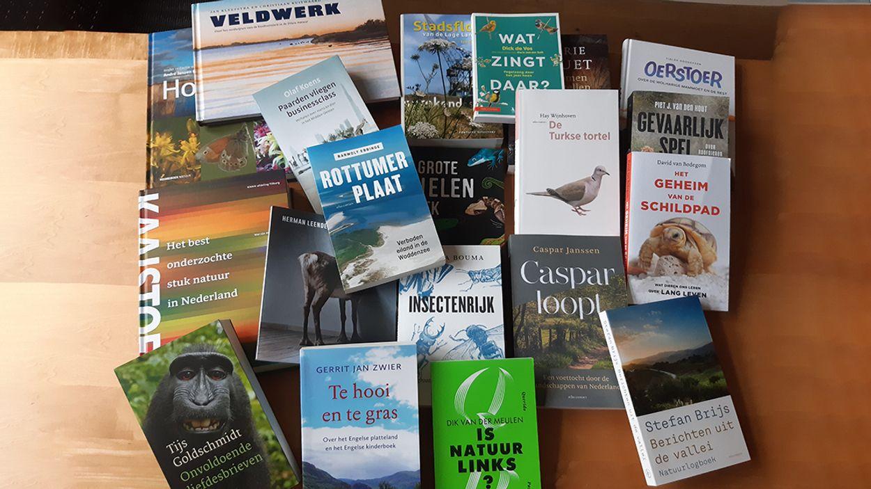 Afbeelding van Twintig natuurboeken in de race voor Jan Wolkersprijs 2020