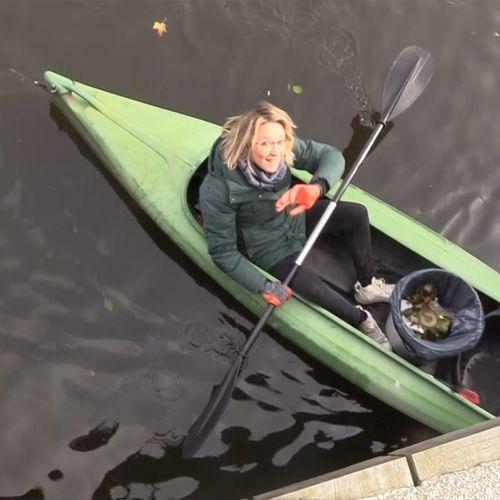 Afbeelding van Snorkelen in de Leidse gracht | Achter de schermen