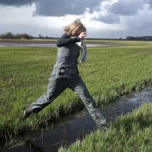 Afbeelding van Door weer en wind in beekdal Koningsdiep | Achter de schermen