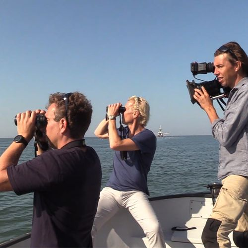 Afbeelding van Zoektocht naar zeehonden op Texel | Achter de schermen