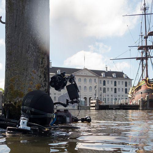 Afbeelding van Meer leven in de Amsterdamse grachten door coronacrisis