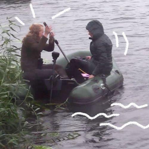 Afbeelding van Rubber bootje in de storm | Achter de Schermen